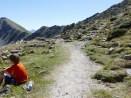 Aufstieg zum Col du Barn auf 2240m Höhe geschafft, ab hier beginnt der Nationalpark