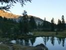 2.Nacht am Lac Graveirette, für uns ein wenig zu viel an Campern