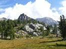 Auf dem Weg zum Col de Frémamorte mit 2600m Höhe