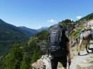 Aufstieg am Folgetag von Abries zum Lac Le Grand Laus
