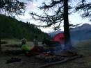 Ein sehr geselliger Abend am Traumcamp des Urlaubes
