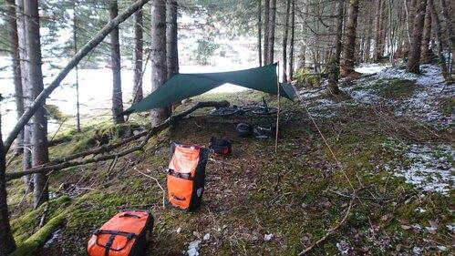 Outdoor Trekking Zelten Tipps