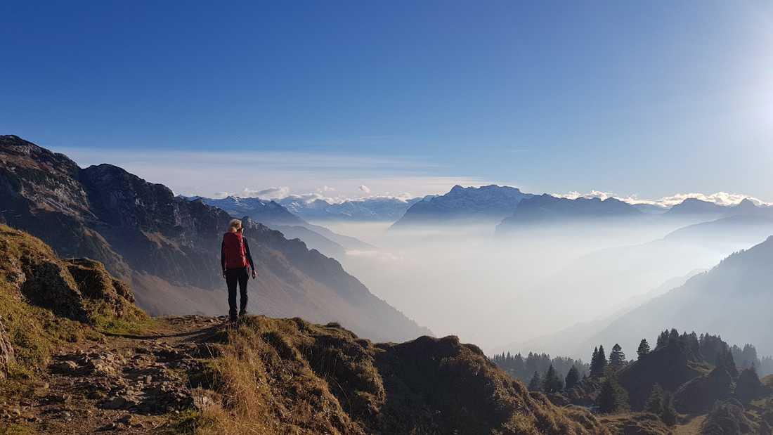 Klettersteig Speer : Klettersteig schweiz alpen speer nordwandsteig täve supertramp