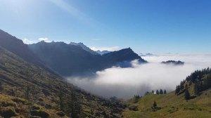 Klettersteig Schweiz Alpen Speer