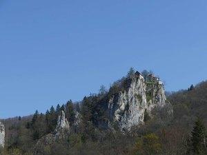 Höhlen Donautal Wandern Biwak