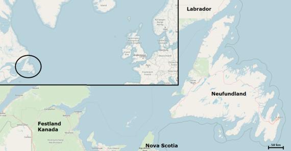 Neufundland Trailway Reiserad 1300km