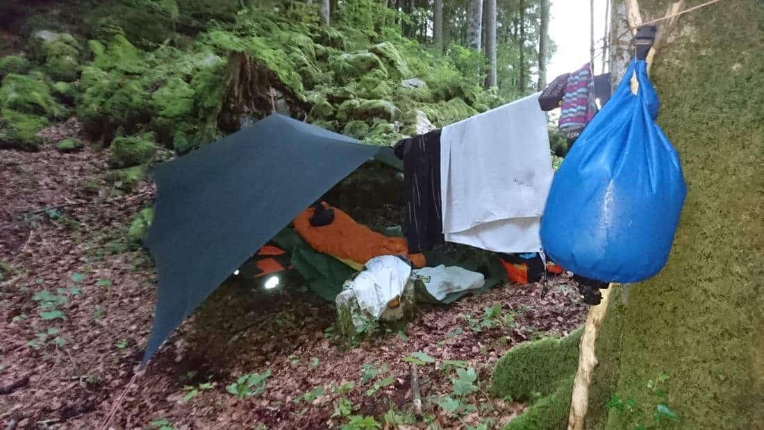 Mein 1.Camp im Muothatal