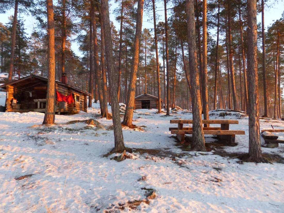 5.Nacht Open Wilderness Hut Jääsaari