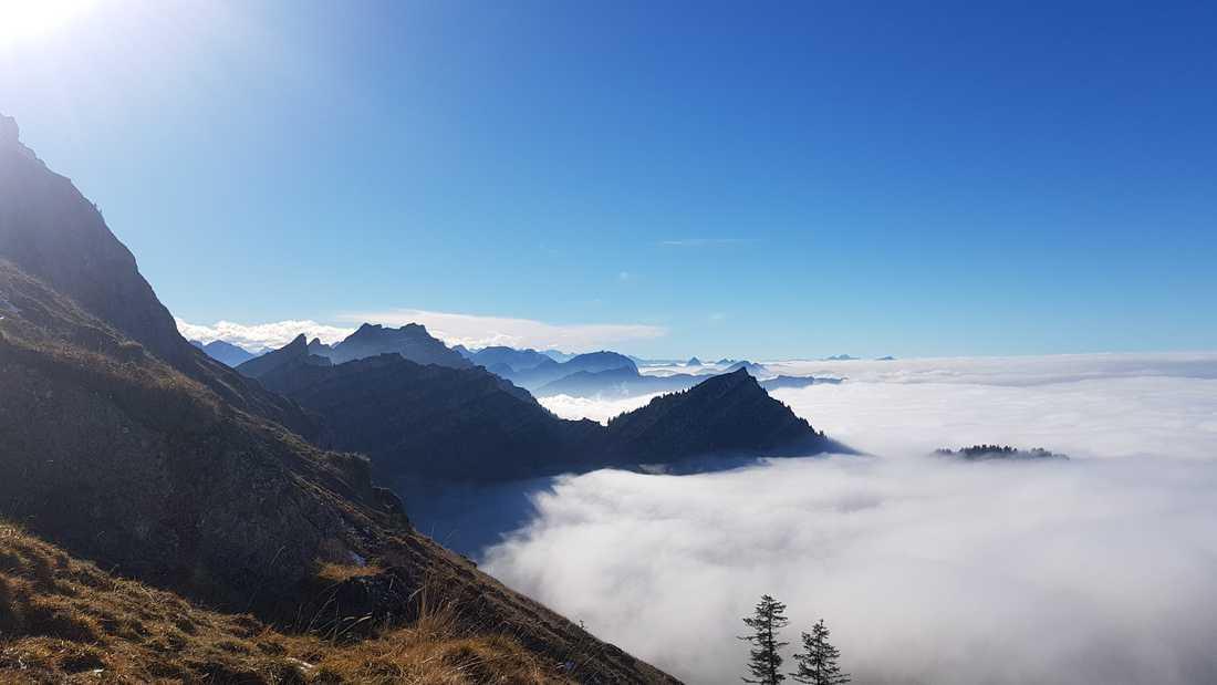 Letztes Foto im Klettersteig